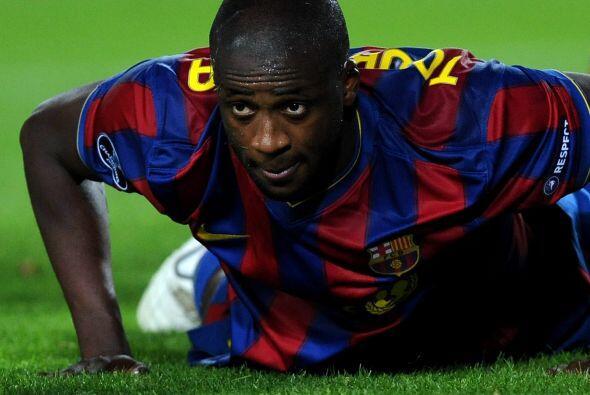 El marfileño Yaya Touré pasó tres gloriosos años con el Barcelona y todo...