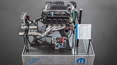 Conoce el nuevo motor Mopar Hemi 426 Supercharged Hellephant