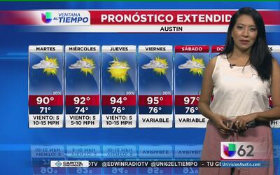 Precipitaciones ligeras se registran para este lunes en Austin