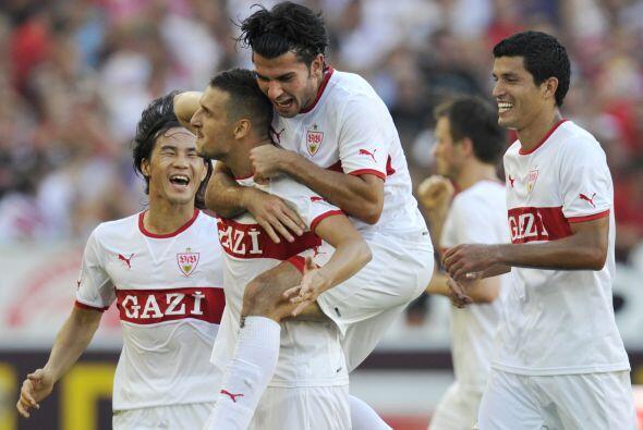 Ya en los minutos finales del juego marcó el tanto del empate a dos goles.