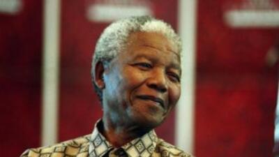 El expresidente Nelson Mandela.