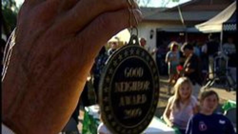 Medalla de buen samaritano