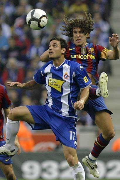 El Espanyol comenzó sorprendiendo al Barça con presión en la zona creati...