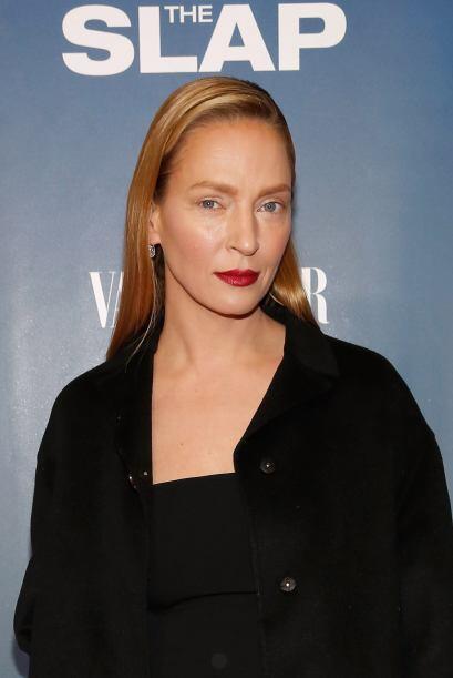La actriz acudió al lanzamiento de 'The Splat' , pero fue su rostro el q...