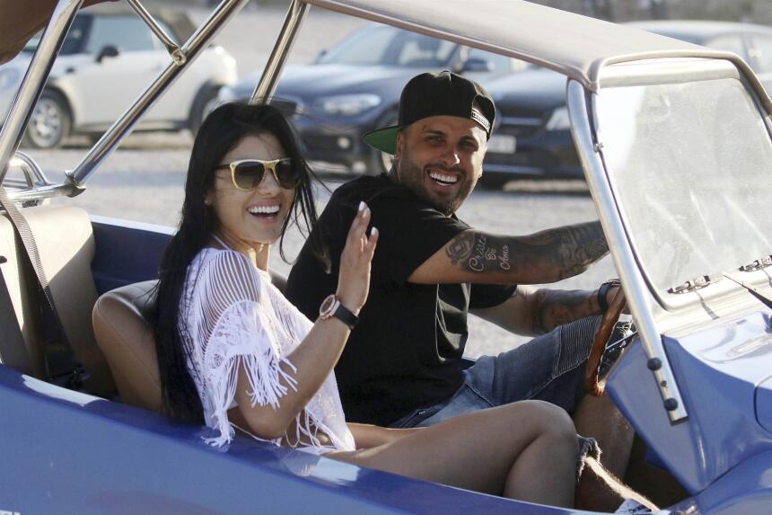 Nicky Jam y su esposa