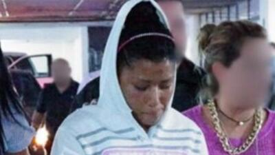 La imagen de Itzel Nayeli García Montaño difundida por las autoridades.