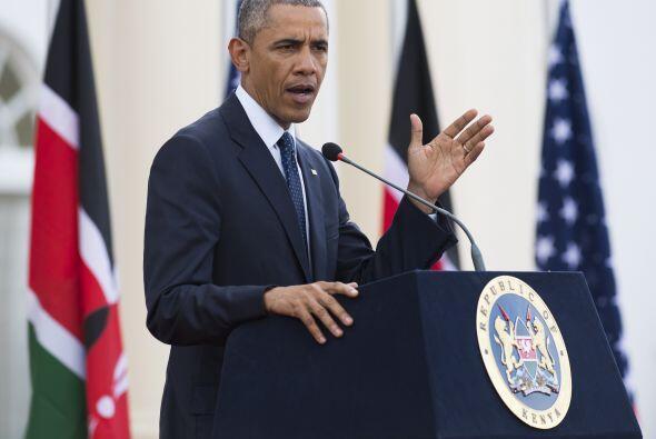La intervención del presidente Obama.