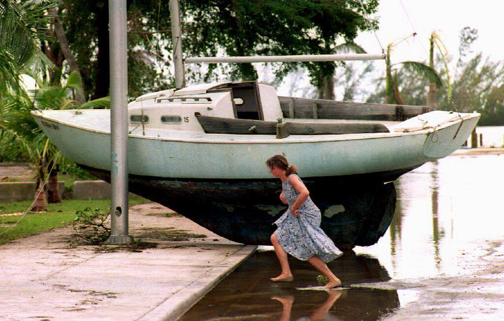 A 23 años del paso del huracán Andrew