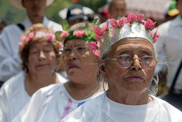 Marta Sánchez, representante del Movimiento Migrante Mesoamericano, dijo...
