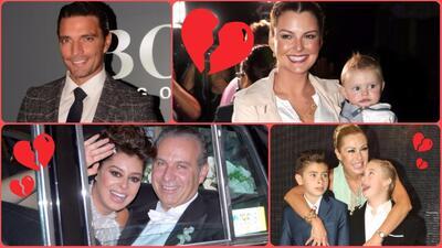 6 parejas de famosos que se dijeron 'adiós' por culpa de un tercero