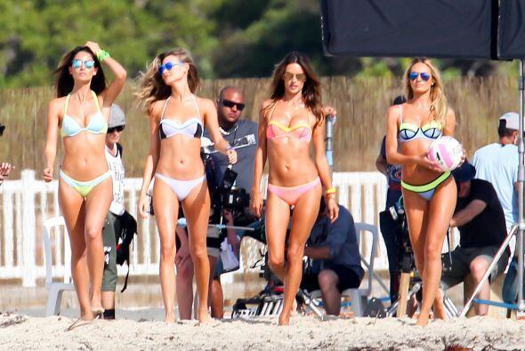 Las modelos más 'hot' de la marca Victoria's Secret llegaron a la...