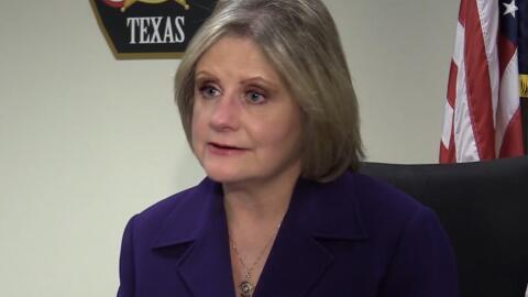 Sally Hernández, sheriff del condado Travis en Texas