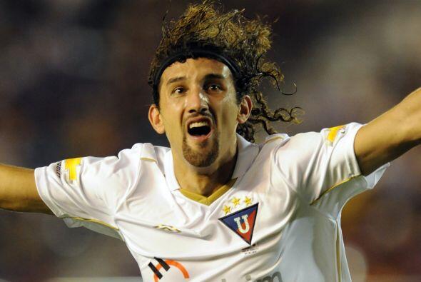 Hernán Barcos, argentino pero muy famoso en Ecuador, figura en ca...