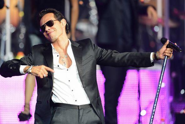 Marc Anthony Este cantante de origen puertorriqueño es el artista más ve...