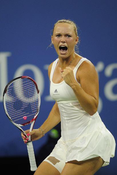 Wozniacki busca su primer Grand Slam y se colocó un paso más cerca de co...