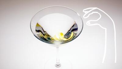 El martini de James Bond