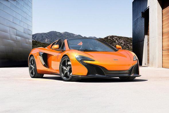 McLaren 650S     Motor V8 3.8 Lts.   Potencia 640 HP   Aceleración (0-60...