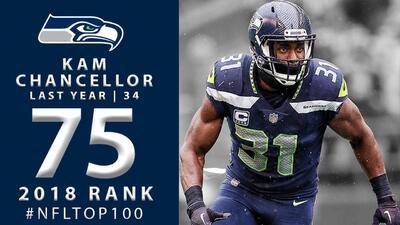 #75 Kam Chancellor (SS, Seahawks) | Top 100 Jugadores NFL 2018