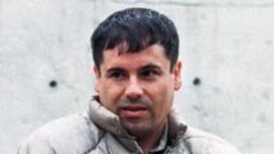 """El capo mexicano Joaquín Guzmán Loera, """"El Chapo""""."""