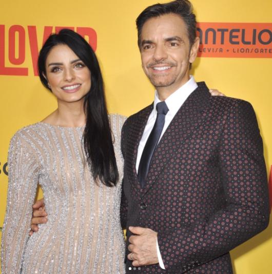 Eugenio Derbez y su hija en la alfombra roja de 'How to be a Latin L...