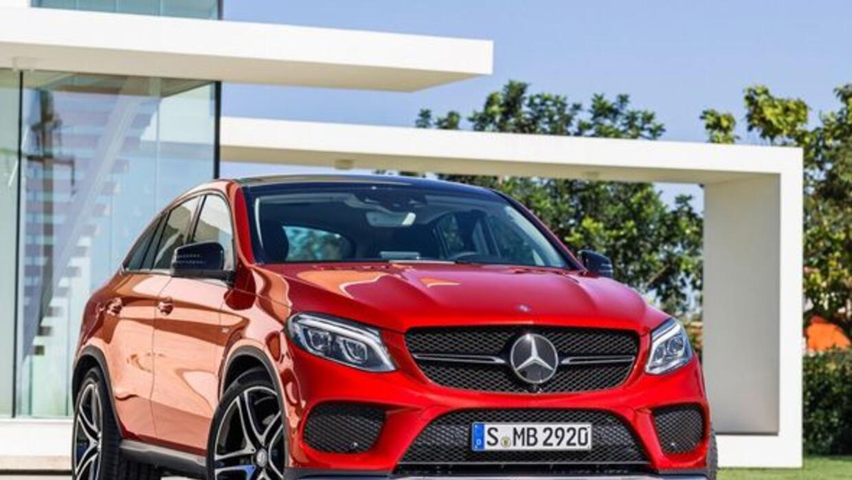 La nueva GLE será competencia directa de la X6 de BMW.