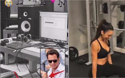 Marc Anthony está feliz con su nueva novia italiana y Zuleyka Rivera mue...