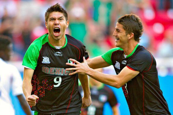 Peralta sería el hombre gol de México en esos Panamericanos al anotar se...