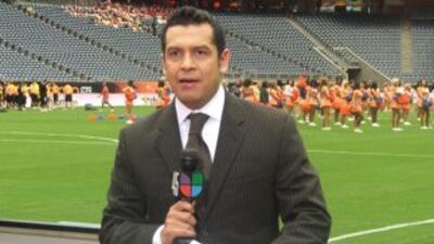 Felipe Valenzuela, director de Deportes de Noticias 45, Univision, trans...
