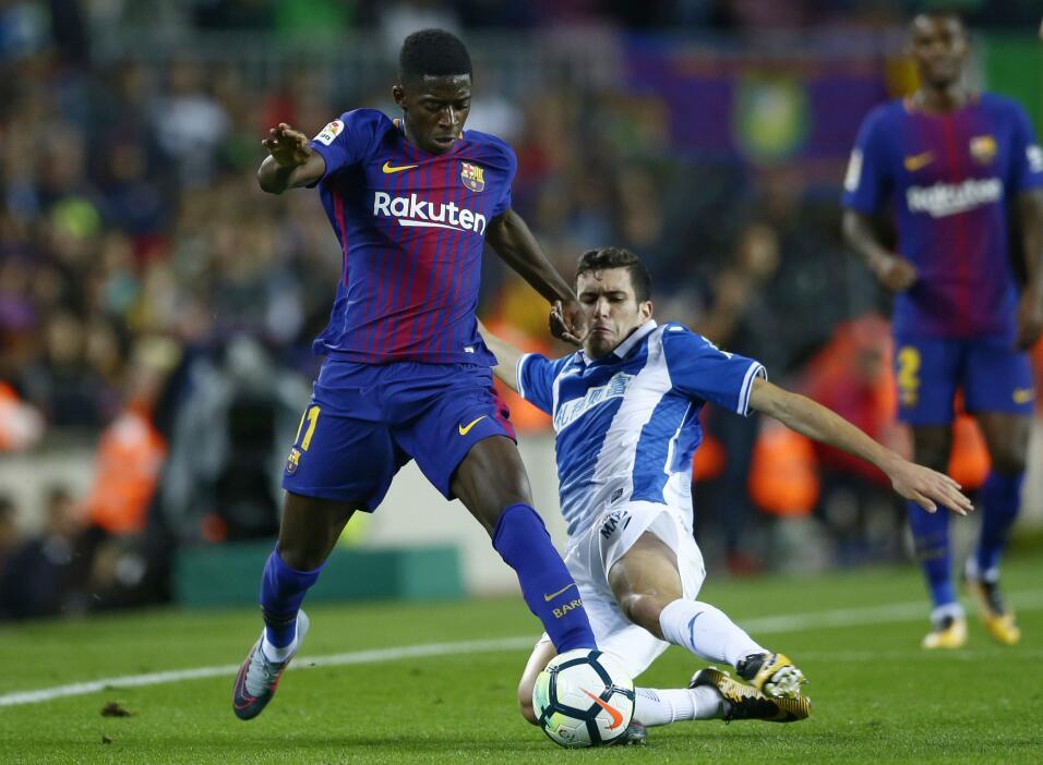 Ousmane Dembélé vuelve a los entrenamientos con Barcelona ap-17252733892...