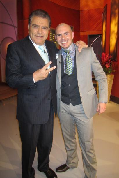 Pitbull visita a  Don Francisco para hablarle de su vida y de cóm...