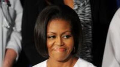 La primera dama de EEUU,Michelle Obama.