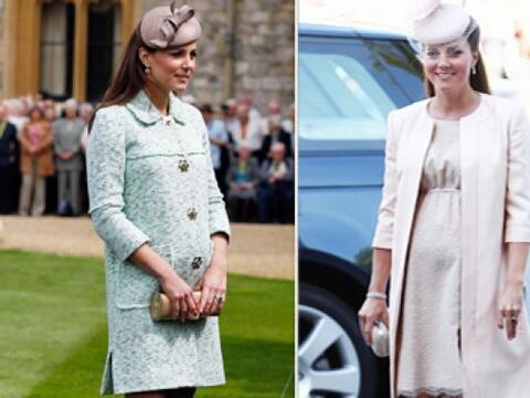 Kate Middleton es una experta en moda y durante sus embarazos no ha sido...