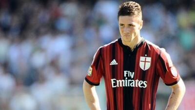 El Atlético de Madrid le mandó un mensaje a Fernando Torres esperando qu...