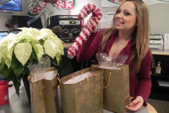 De hecho, el mejor regalo que ella ha recibido ha sido una manualidad de...