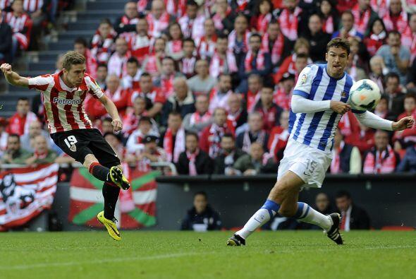 Muniain había adelantado a los 'Leones', pero el gol deAgirretxe signif...