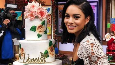 Sorprendimos a Vanessa Hudgens con un pastel de cumpleaños y JLo le cantó 'Happy Birthday'
