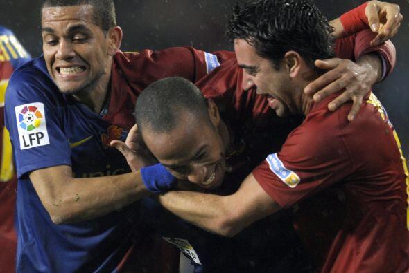 En ese encuentro, Henry y Messi marcaron un doblete, Puyol y Piqué tambi...