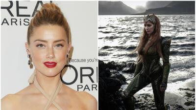 Amber Heard interpretará a 'Mera' en la película 'Aquaman'.