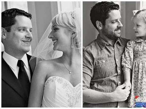 Ben Nunery y Ali Pace eran una pareja de felices recién casados,...