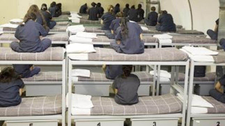 Centro de detención de ICE en Texas.