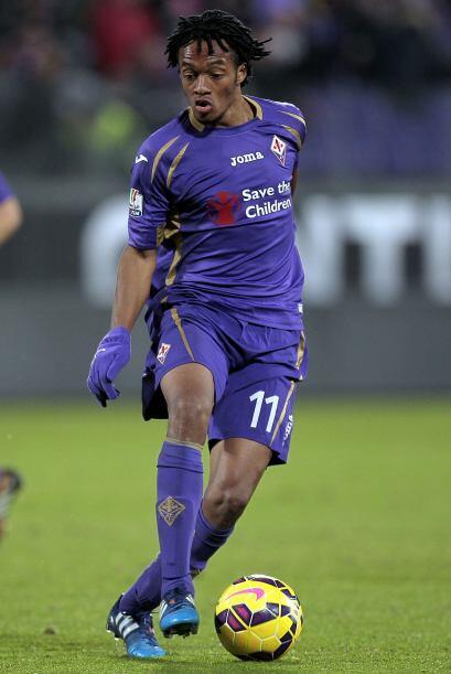 El volante colombiano Juan Cuadrado es quizás el futbolista que más posi...