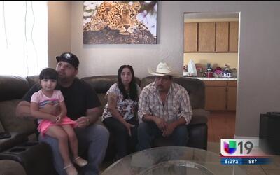 Familia hispana denuncia supuesto abuso por parte de oficiales