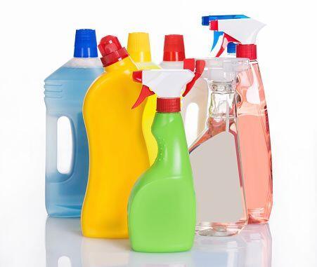 Lo siguiente es tener a la mano los productos de limpieza que vas a util...