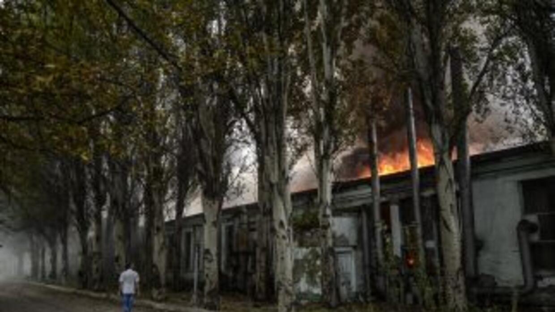 Ucrania dijo que sus cazas abatidos fueron alcanzados por misiles lanzad...