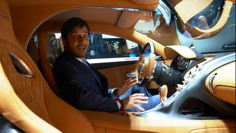 Bugatti Chiron - Ginebra 2016 A Bordo