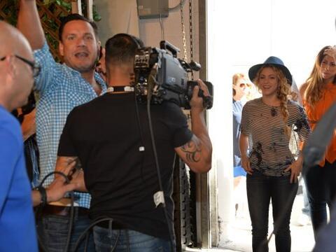 Este miércoles 9 de julio la cantante colombiana Shakira engalan&...