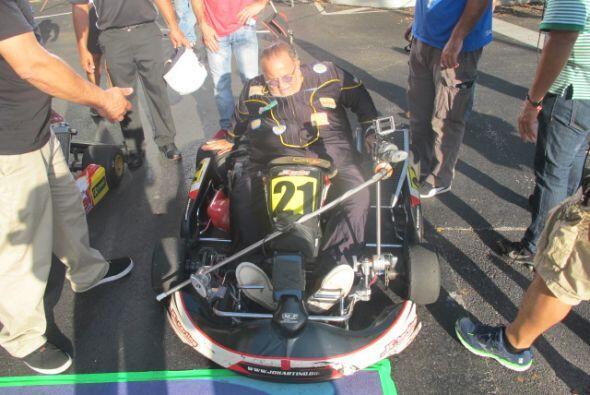 El Gordo de Molina aceptó la carrera a la que lo desafió J...