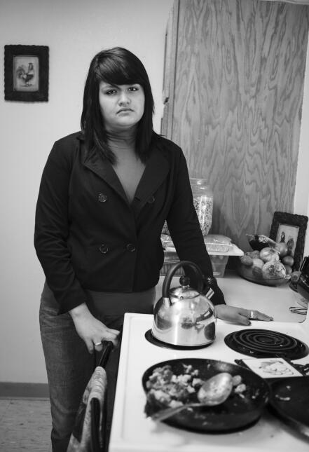 Blanca perdió su hogar porque su madre optó por alimentar a sus hijos en...