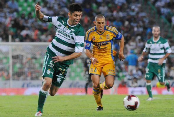 En el partido de semifinal de vuelta Tigres sacó el empate de la cancha...