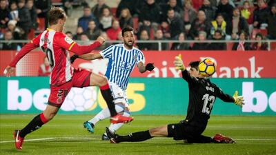 Girona, Real Sociedad